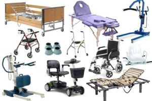 Services for accessible tours: aids rental