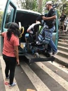 Indonesia accessible to travelers, Bali Accessible Van