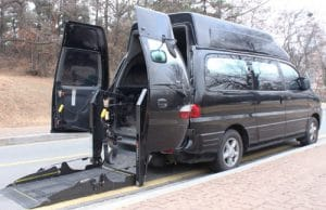 Accessible van South Korea