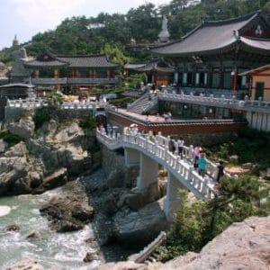 Journeys Seul-Busan wheelchair accessible - Haedong Yonggungsa Temple