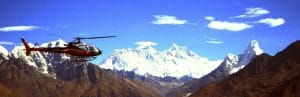 Accessible full Nepal tour - Optional helicopter flight over the Himalayas