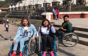 Accessible full Nepal tour - Wheelchair tourists