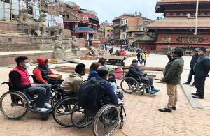 Accessible full Nepal tour - Kathmandu Sightseeing