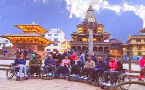 Accessible Nepal Wheelchair travelers