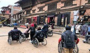 Accessible Nepal Wheelchair sightseeing in Kathmandu