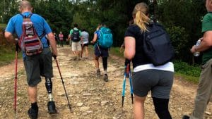 Accessible trekking in National park