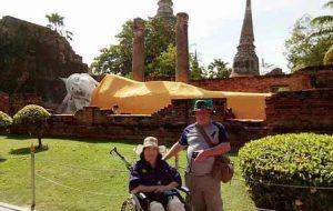 Thailand Ayutthaya Sleeping Buddha