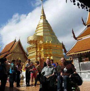 Thailand Bangkok Doi Suthep Temple