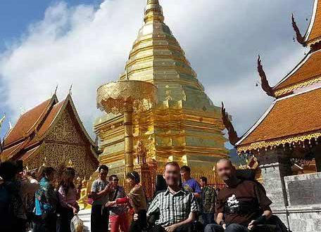 Asien für alle, auch für Sie im Rollstuh- ChiangMai - Doi Suthep Temple