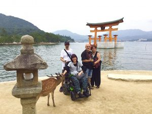 Japan accessible one day tour - Hiroshima - Itsukushima